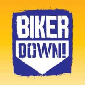 The Biker Down logo