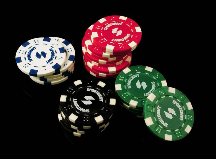 Picture of gambling chips