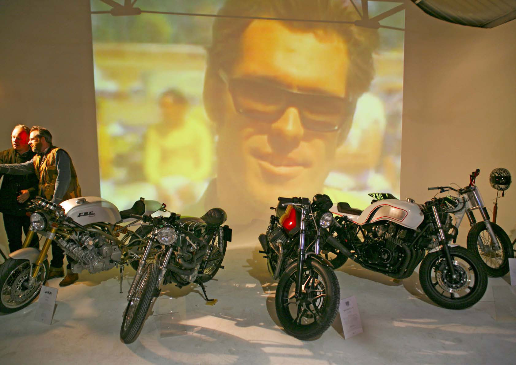 Array of customised bikes