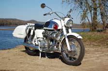 Moto Guzzi Californian parked