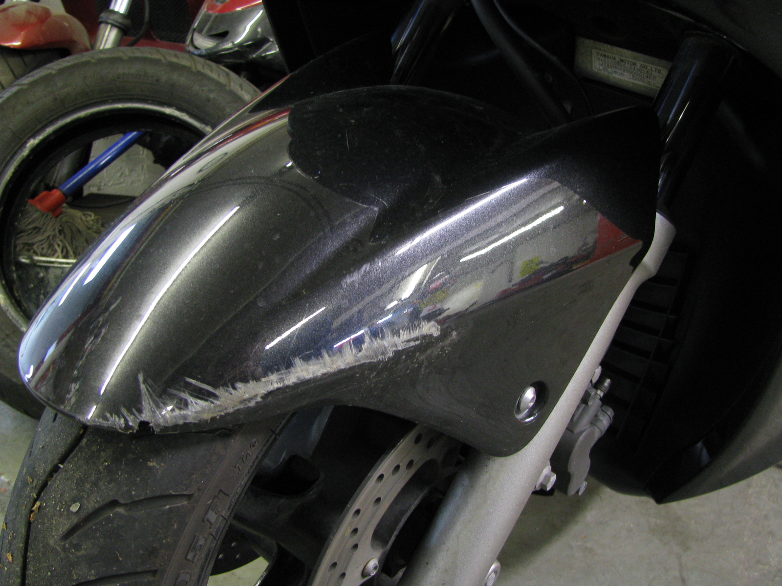 3 Front mudguard
