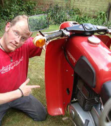 Paddy and an Mz Trophy