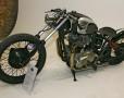 Customised Triumph low rider