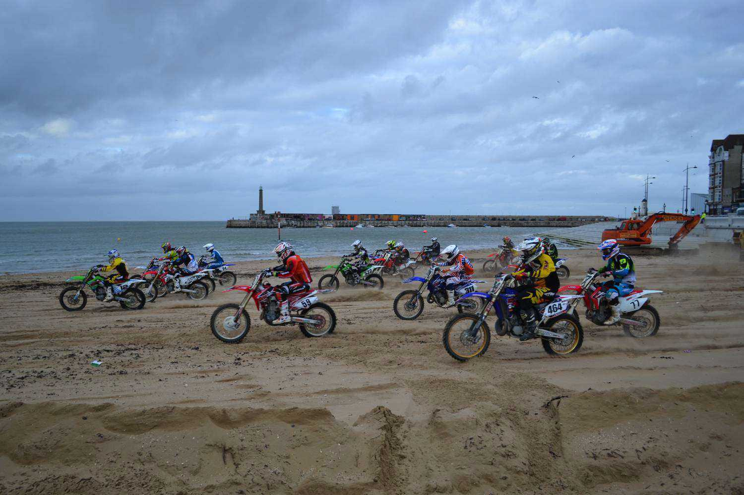 Beach Racing in Margate