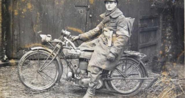 Frank Powell WW1 uniform with MC